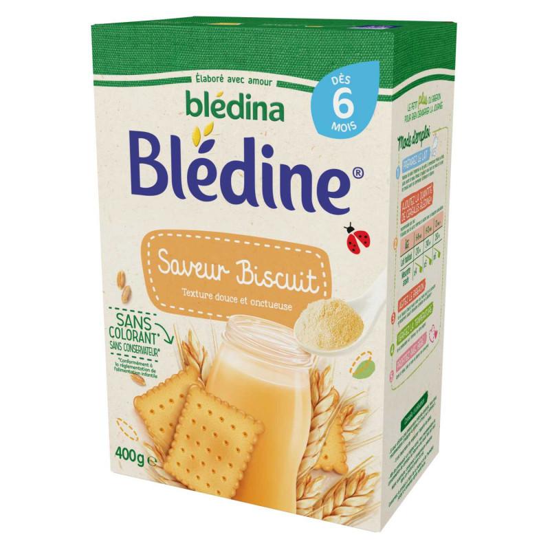 Blédine - Saveur Biscuit  - 400g