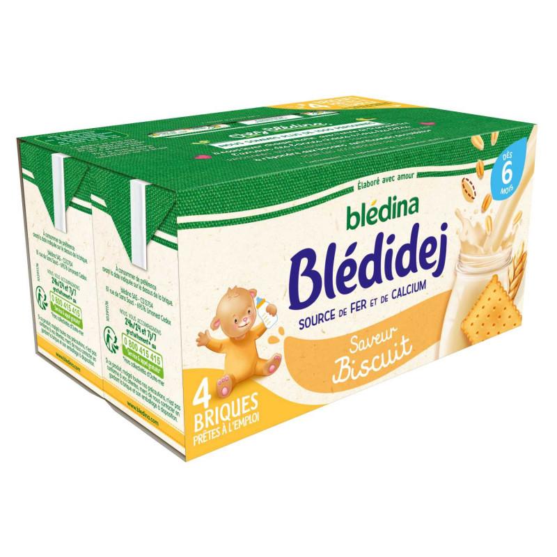Blédidej Saveur Biscuitée 4x250ml