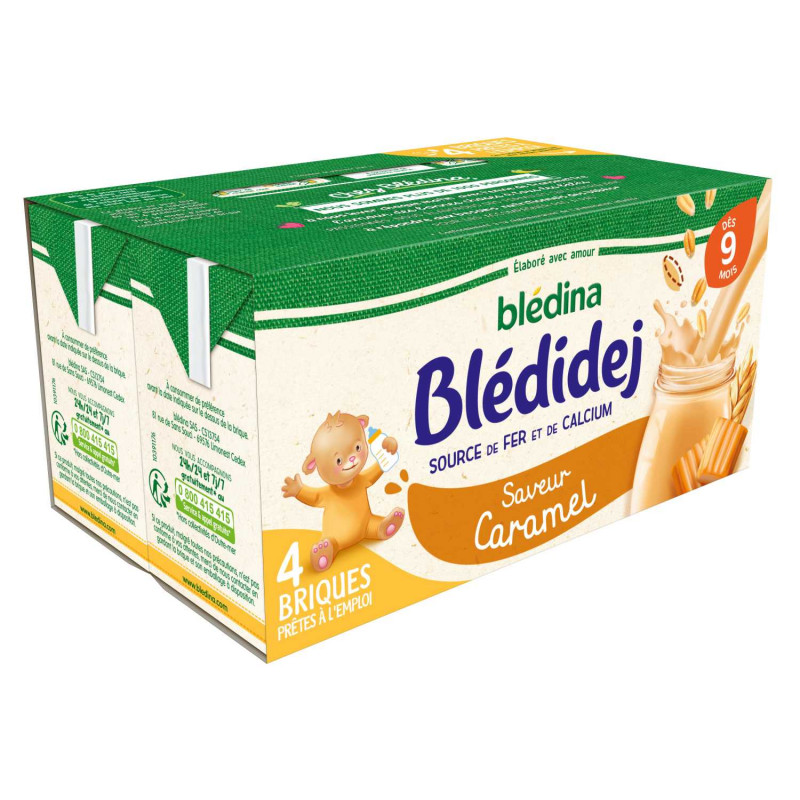 Blédidej Saveur Caramel 4x250ml