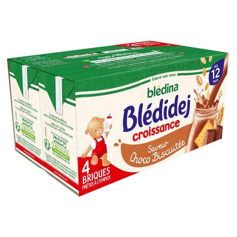Blédidej Croissance Choco-biscuité 4x250ml