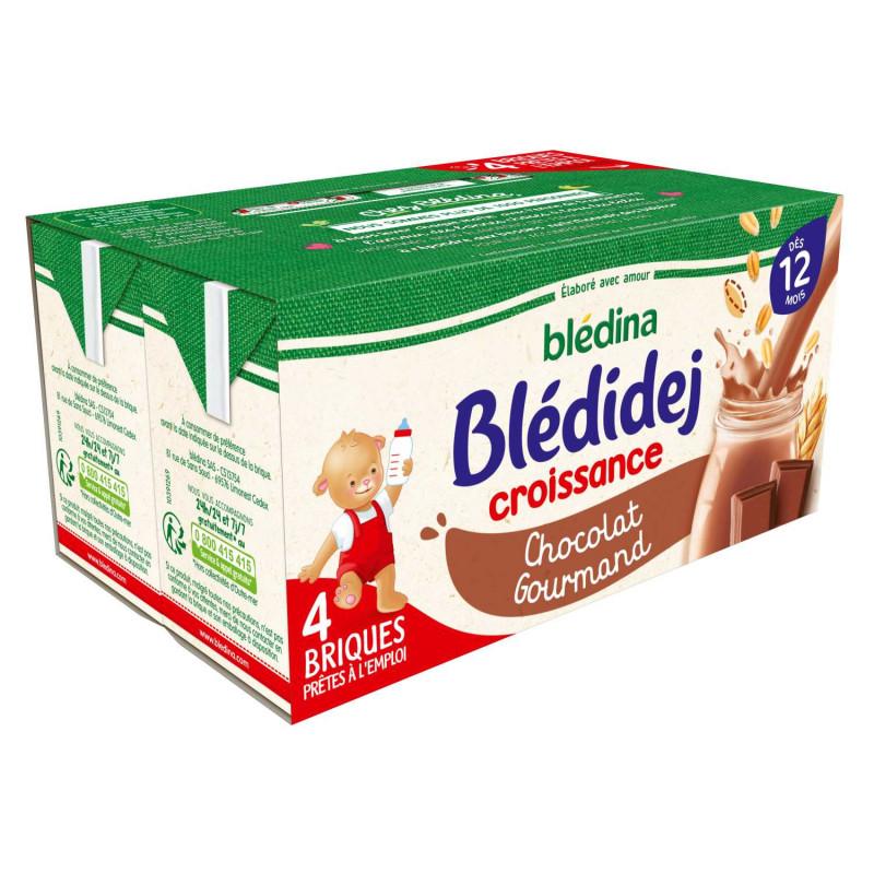 Blédidej Croissance Chocolat Gourmand 4x250ml