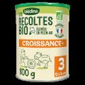 Blédina Les Récoltes Bio Croissance en poudre à partir de 12 mois - 800 g