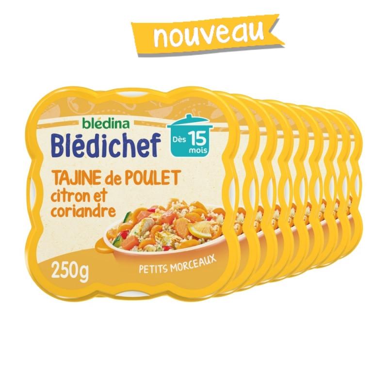 Blédichef - Tagine de Poulet, Citron et Touche de Coriandre - 250g