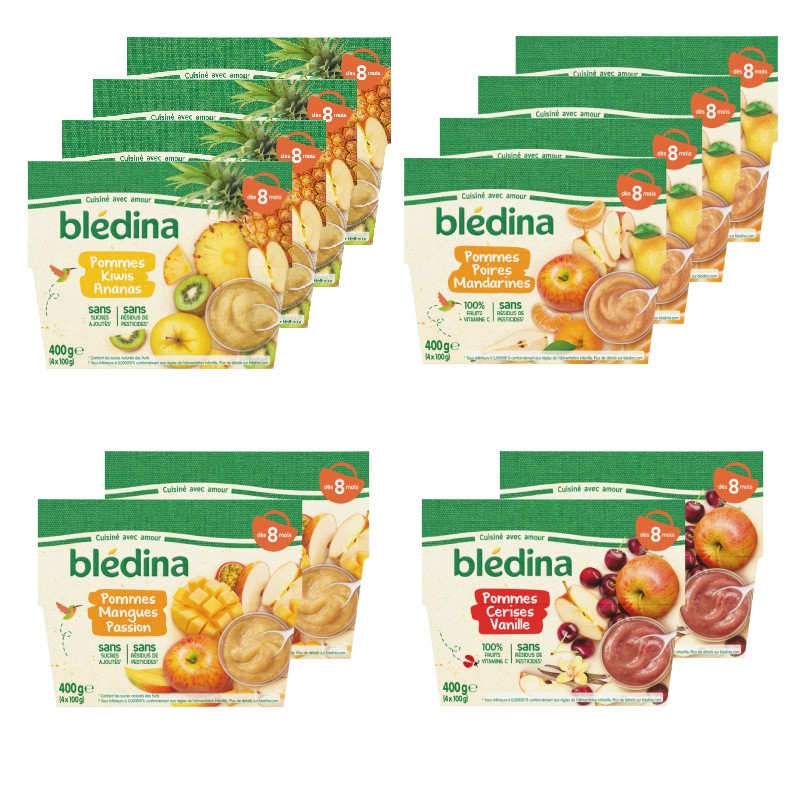Pack Fruits Famille dès 8 mois