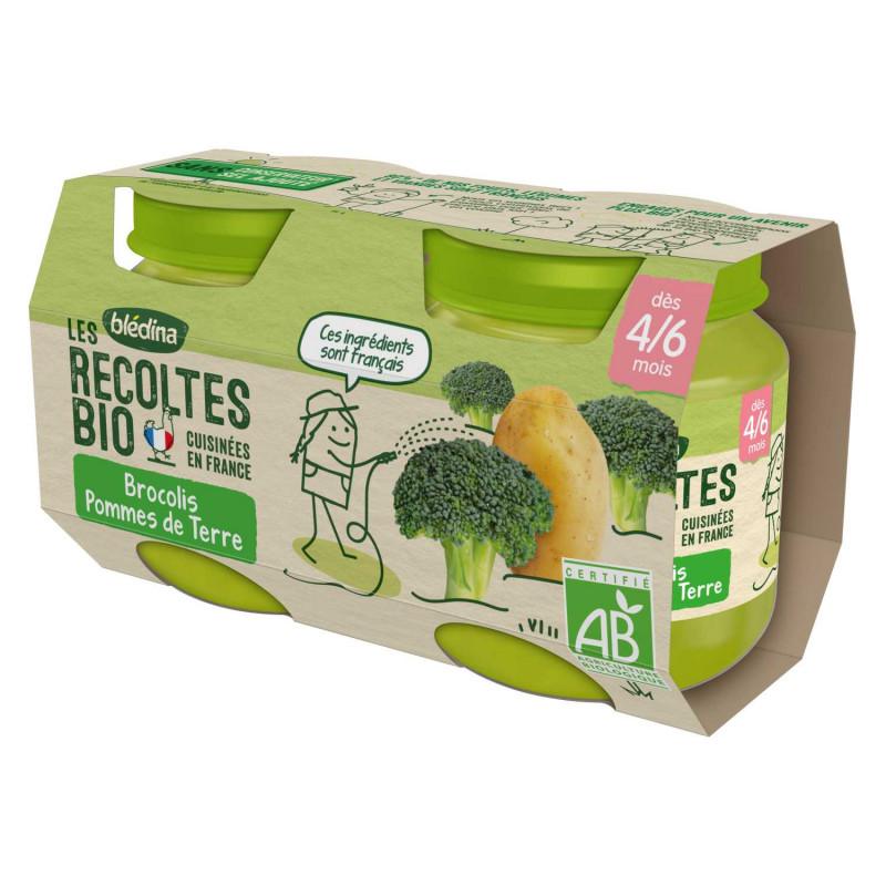 Les récoltes Bio Brocolis Pommes de terre