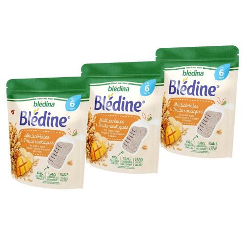 Pack Blédine Multicéréales et Fruits exotiques