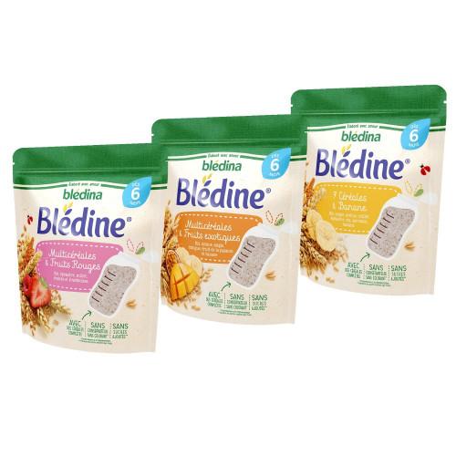 Pack Blédine 7 céréales et Banane