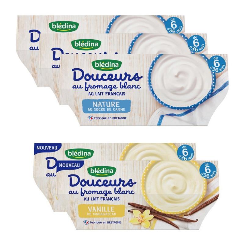 Pack Douceurs au Fromage Blanc dès 8 mois