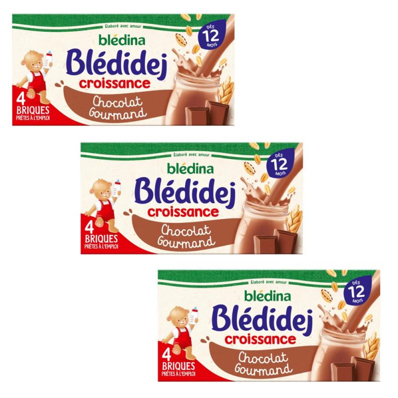 Pack Blédidej Croissance Chocolat Gourmand dès 12 mois