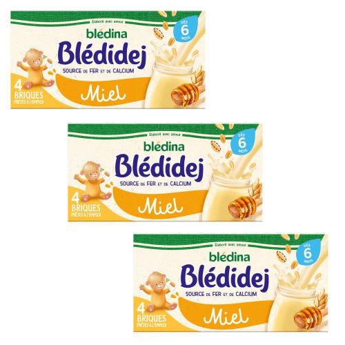 Pack Blédidej Miel dès 6 mois