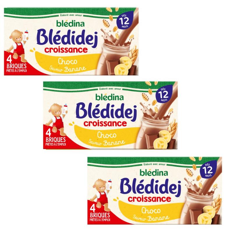 Pack Blédidej Croissance Choco saveur Banane dès 12 mois
