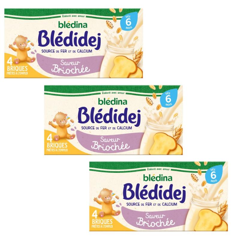 Pack Blédidej Saveur Briochée dès 6 mois