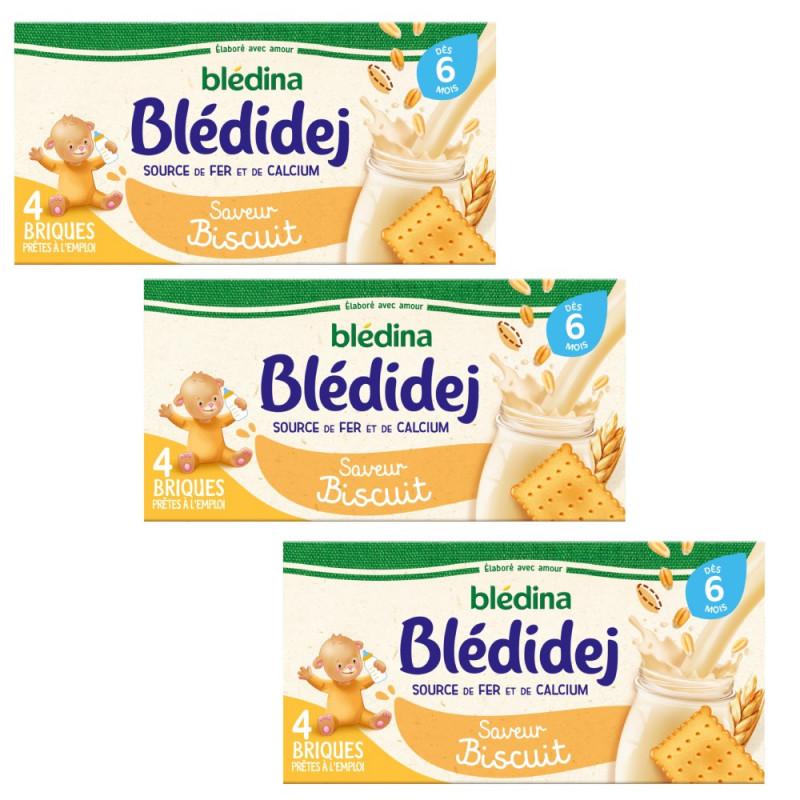 Pack Blédidej Saveur Biscuitée dès 6 mois
