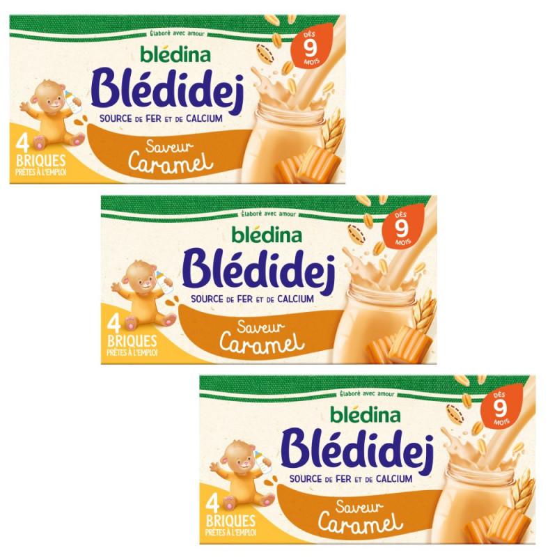 Pack Blédidej Saveur Caramel dès 9 mois