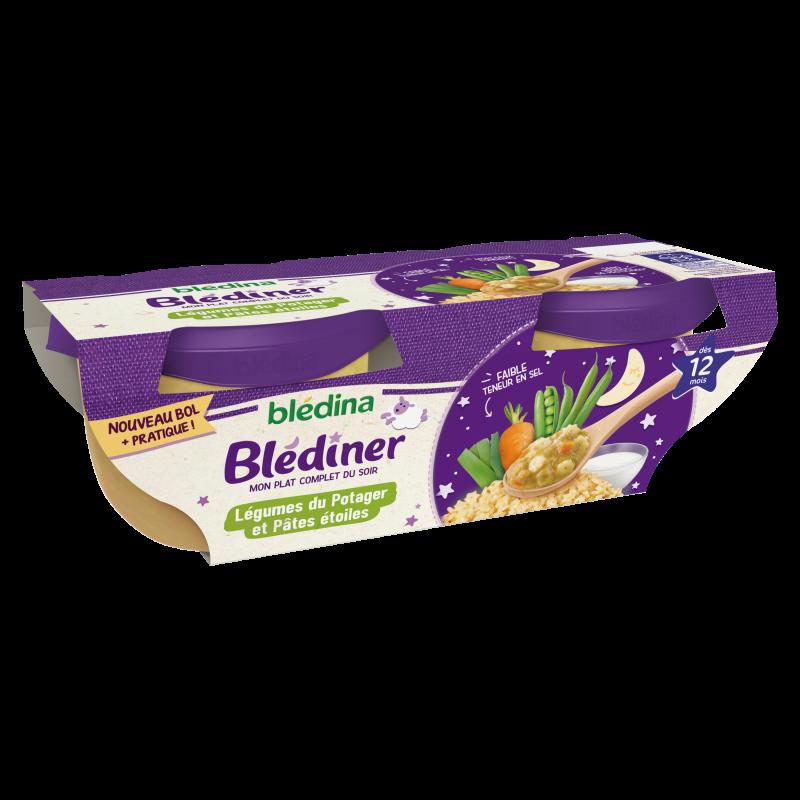 Blédîner Bol Légumes du Potager et Pâtes Etoiles