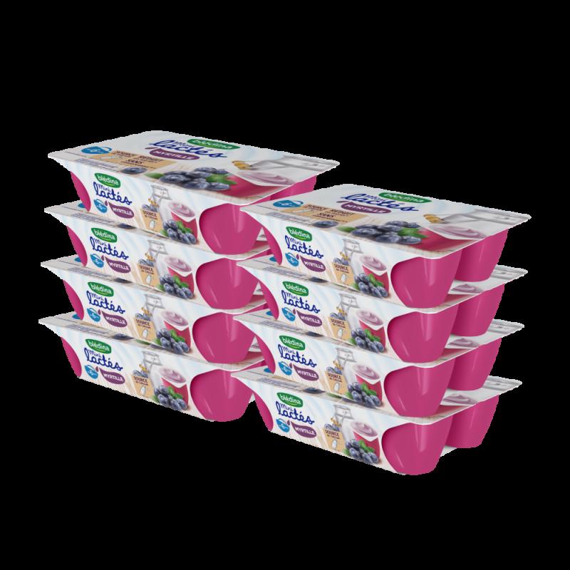 Pack Mini Lactés Myrtille