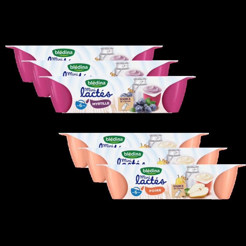 Pack Mini lactés dès 6 mois