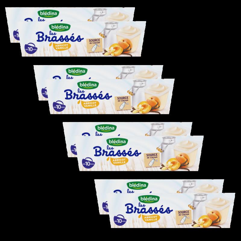 Pack Les Brassés Abricot Vanille