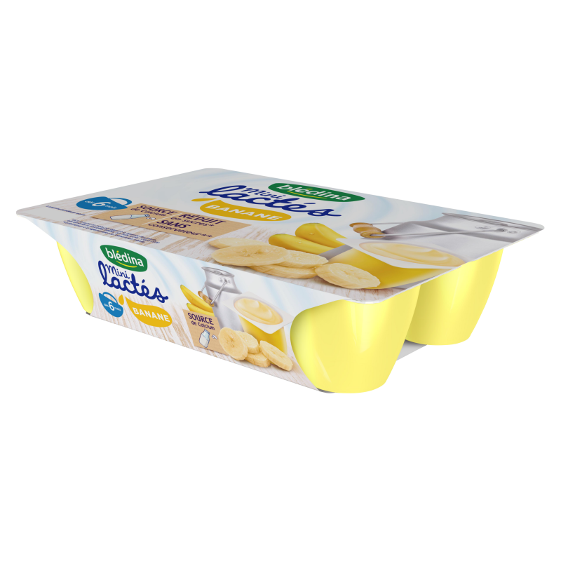 Mini Lactés Banane