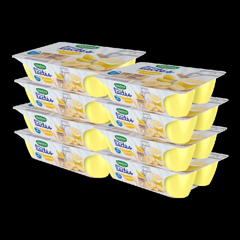 Pack Mini Lactés Banane