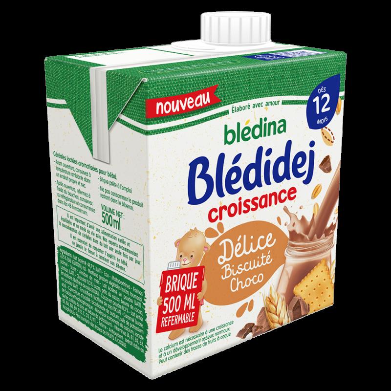 Blédidej - Délice Biscuité Choco 500ml - Dès 12 mois