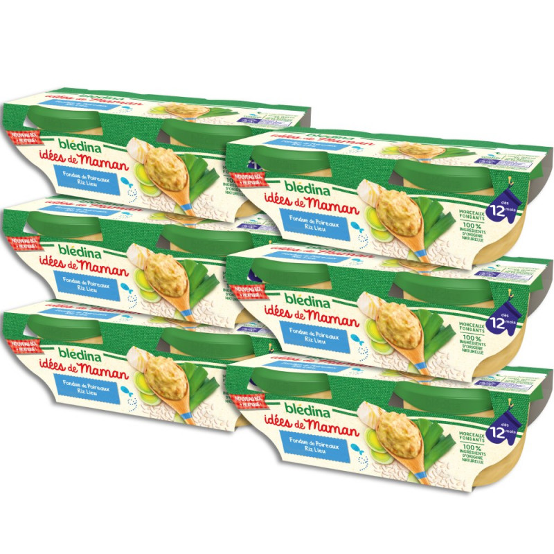 Pack Idées de Maman Poireaux riz Colin