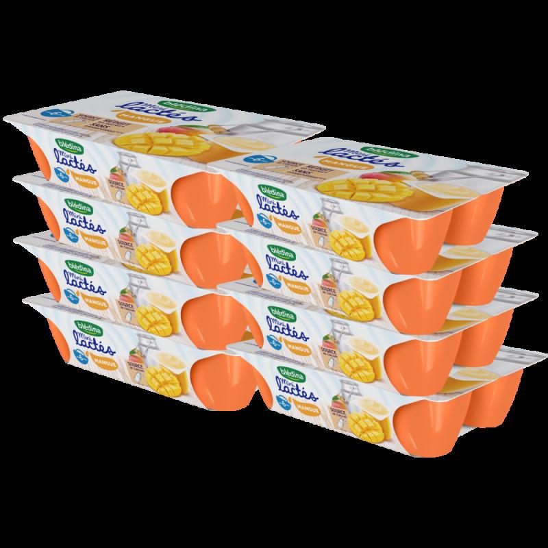 Pack Mini Lactés Mangue