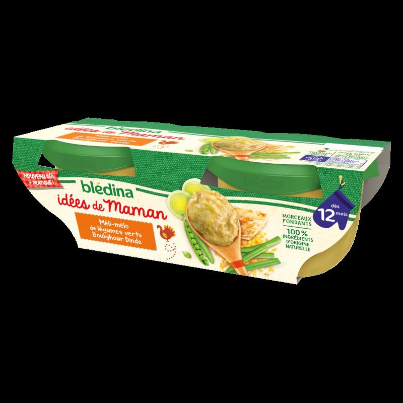 Idées de Maman Légumes verts Boulghour Dinde