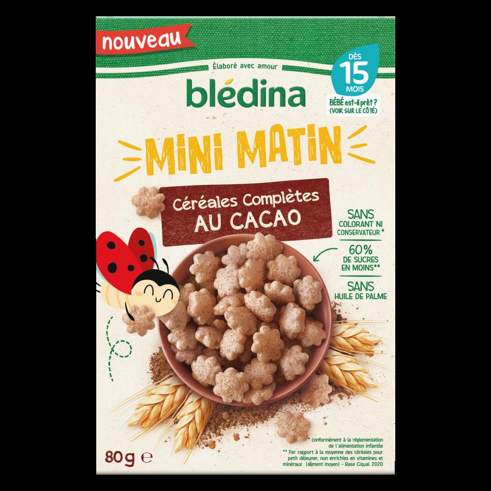 Mini Matin - Céréales complètes au Cacao - Lot x5