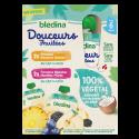 Gourdes Douceurs Fruitées 100% Végétal - Dès 6 mois