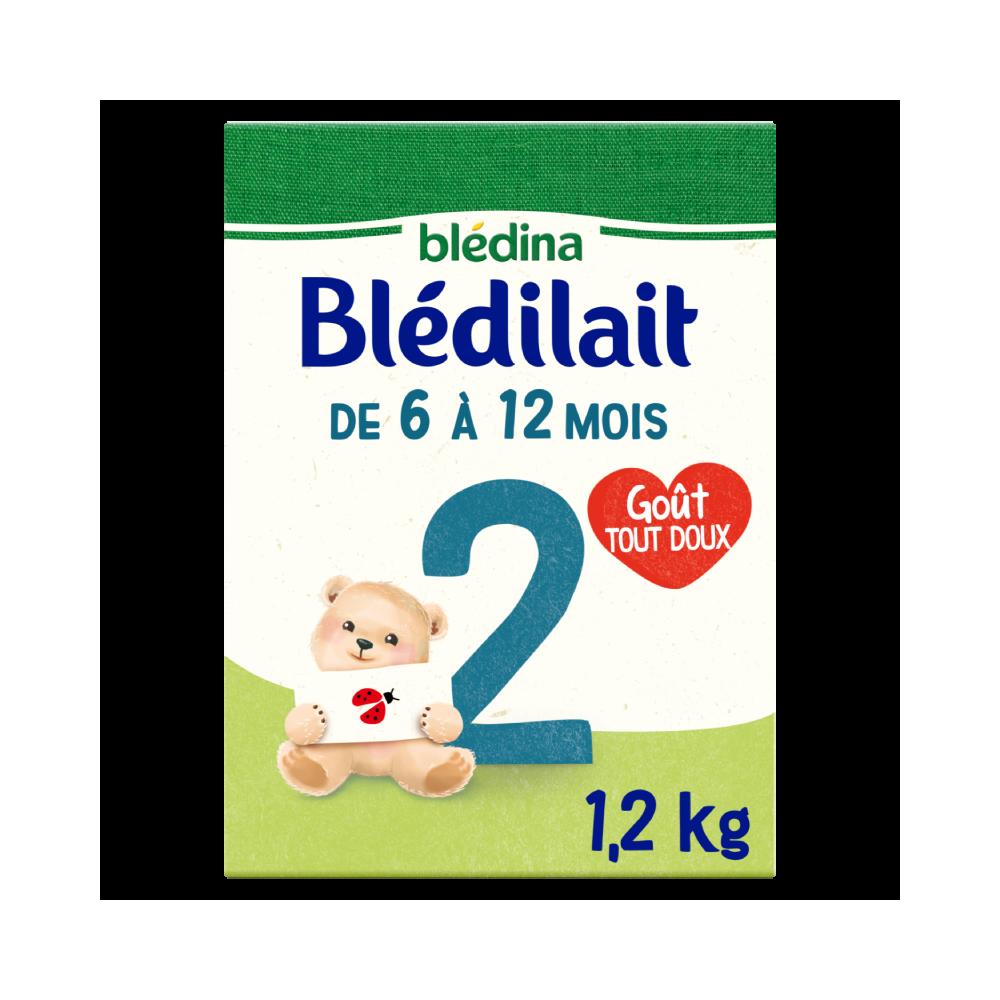Blédilait 2ème âge 1,2kg - De 6 à 12 mois - Lot x3